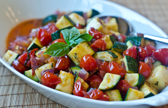 Sautéed-Zucchini-and-Tomatoes